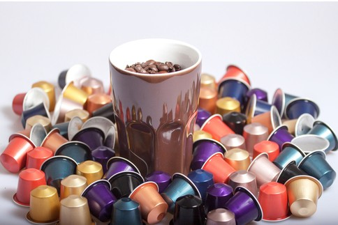 Coffee Bean and Coffee Capsules