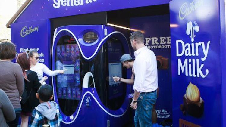 Cadbury Vending Machine