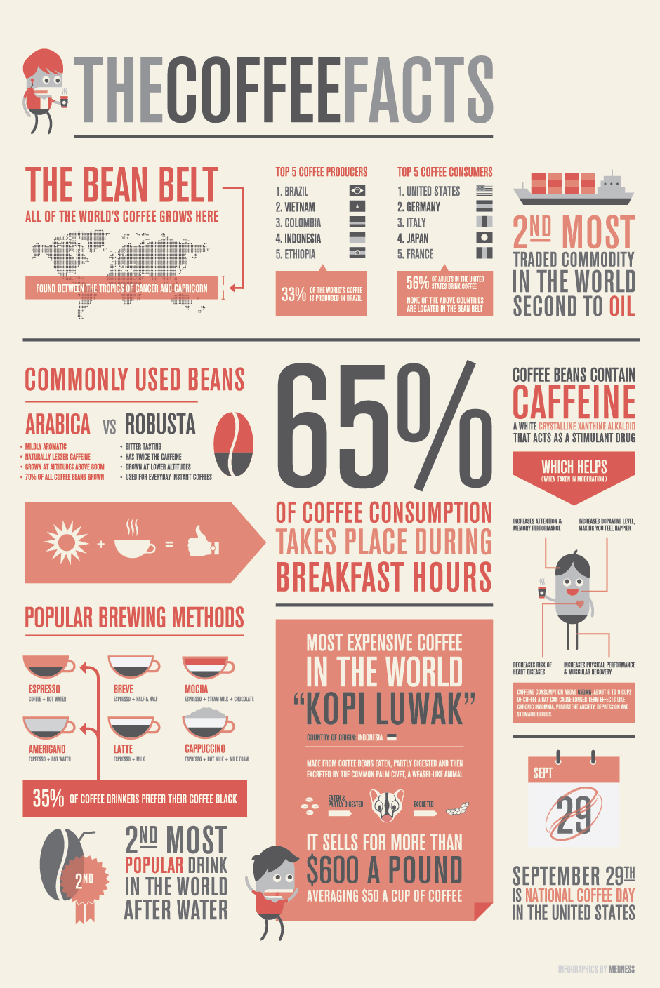 Infographic Coffee Facts