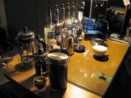 reception coffee