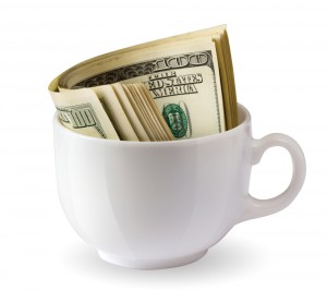 coffee cup cost