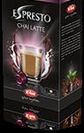 Espresto Coffee Machines Capsule Chai Latte