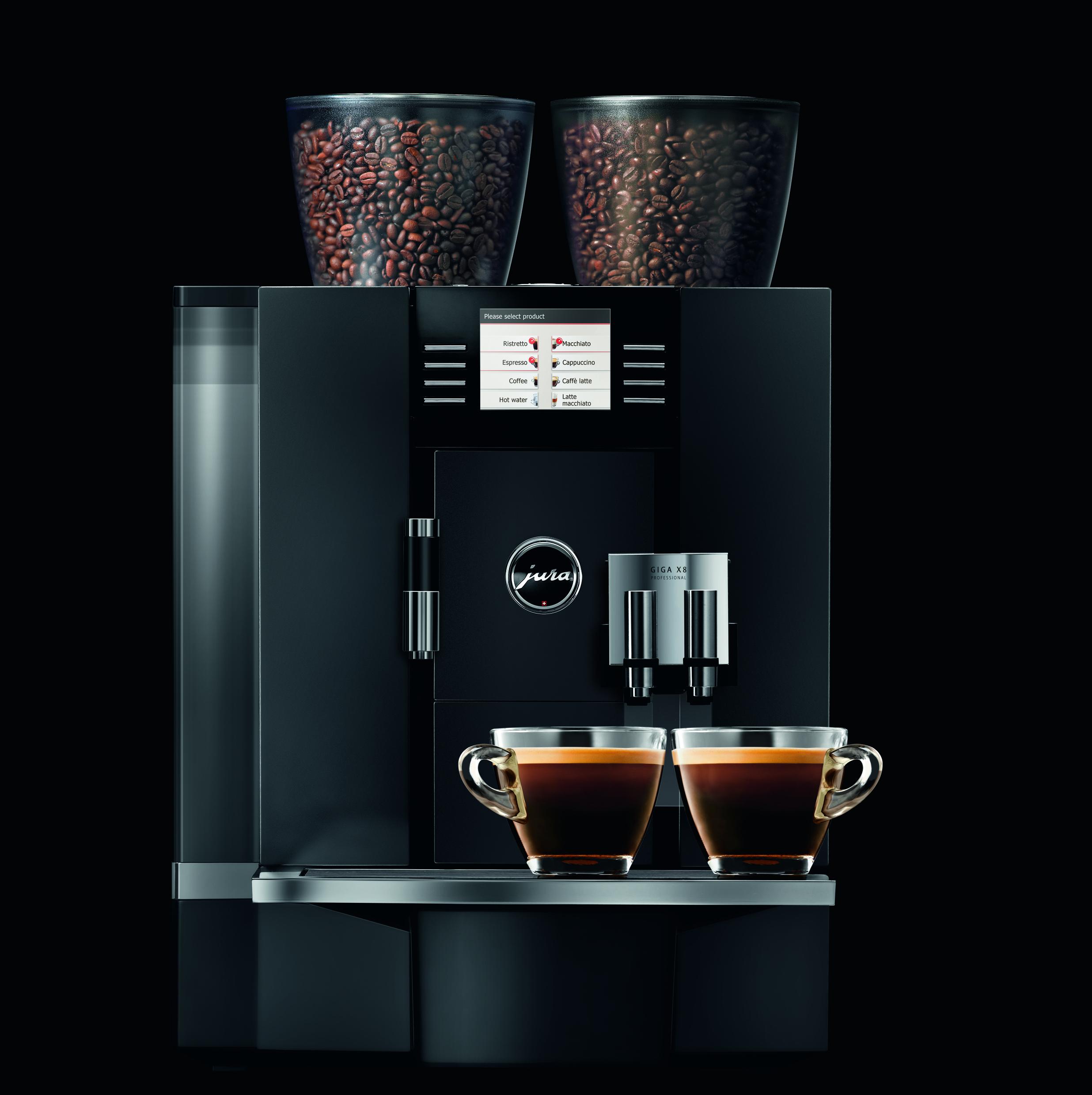 Jura Giga Coffee Machine Range Reviewed