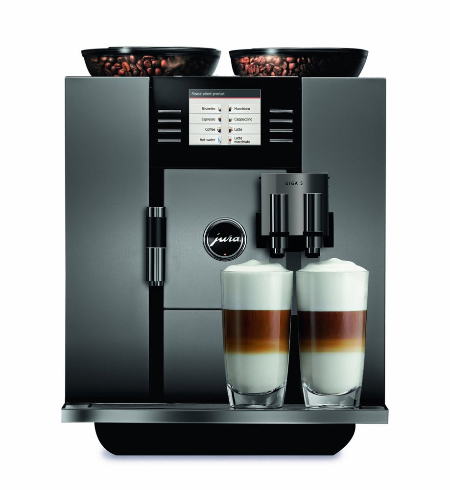 Espresso Coffee Maker Prestige : Jura GIGA Coffee Machine Range Reviewed
