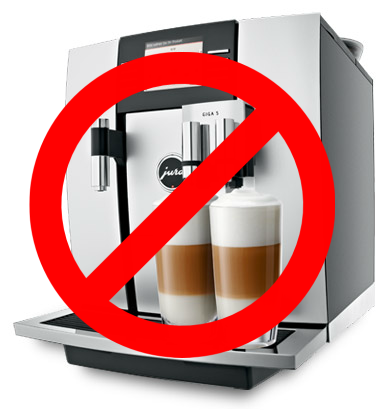 Five Things You Should Never Do With Your Coffee Machine