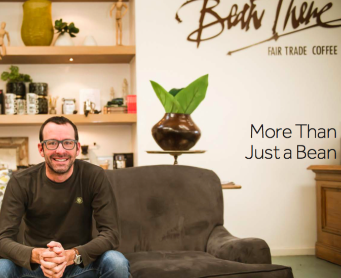 Bean There Fair Trade Coffee - Founder Jonathan Robinson (Image Credit - Gone Travelling